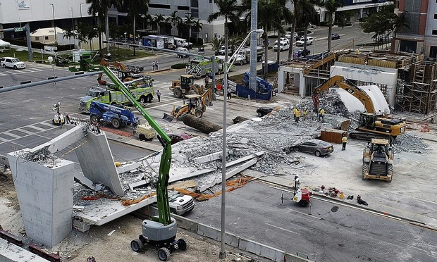 FIU Bridge Collapse - personal injury
